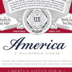 """Self-described """"King of Beers"""" declares itself America. Photo: Alcohol Tobacco Tax and Trade Bureau"""