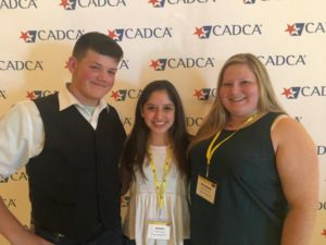 Joey Smith, Andrea Marquez, and Katy Turner attended the CADCA Mid-Year Conference in Las Vegas from July 18-22.