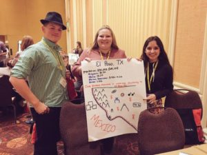 Joey, Katy and Andrea put together a community needs assessment presentation as one of the activities at CADCA mid-year.