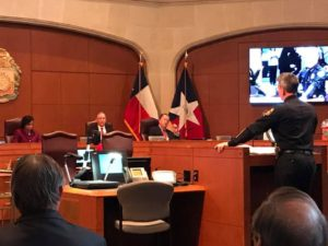 San Antonio Police Chief William McManus presented the civil Social Host Ordinance to council members on Dec. 15.